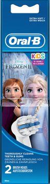 Oral-B Kids Frozen 3+ år Tandbortshuvuden, 2st
