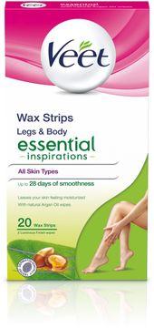 Veet Essential Inspiration Waxstrips Ben 20 st