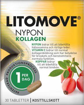 Litomove Kollagen Tablett, 30 st