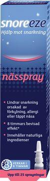 Snoreeze Nasal Spray Nässpray, 10 ml