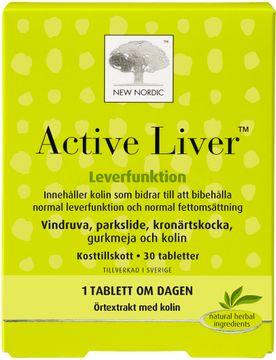 Active Liver tabletter För normal leverfunktion. 30 st
