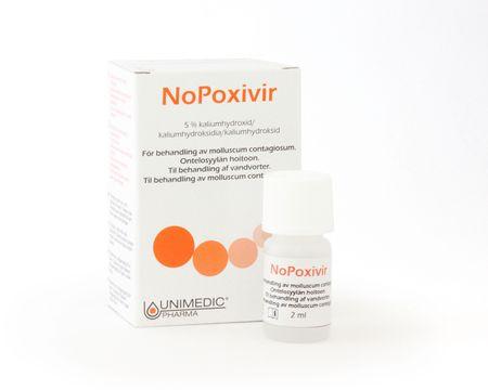 Nopoxivir Molluskbehandling Behandling mot mollusker, 2 ml