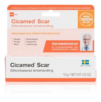 Cicamed Scar Silikonbaserad Ärrbehandling Ärrbehandling, 15 g