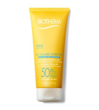 Biotherm Lait Solaire Sunscreen SPF 50, Solskydd, 200 ml