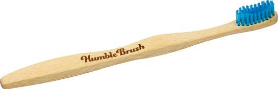 Humble Brush Bambutandborste Blå, Soft Tandborste, 1 st