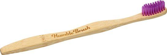 Humble Brush Bambutandborste Lila, Soft Tandborste, 1 st