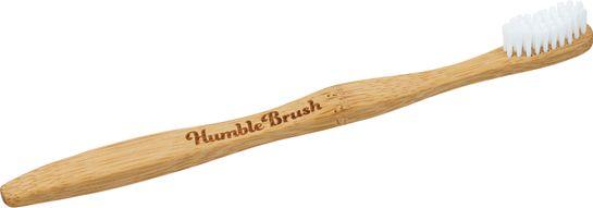 Humble Brush Bambutandborste Vit, Soft Tandborste, 1 st