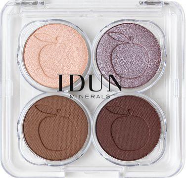 IDUN Minerals Eyeshadow Palette Lavendel Ögonskugga, 4 g