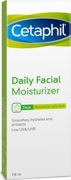 Cetaphil Daily Facial Moisturizer Ansiktskräm, 118 ml