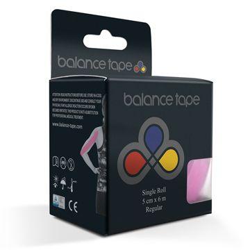 Balance Tape Kinesiologitejp Rosa Kinesiolgitejp, 1 st