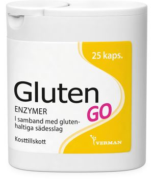 Gluten GO Matsmältningsenzym 25 styck