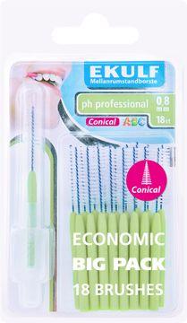 EKULF pH professional ph professional 0,8 konisk pH professional konisk 0,8mm 18st