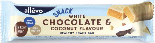 Allévo Snack bar White Chocolate & Coconut Snackbar, 35 g