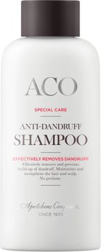 ACO Special Care Anti Dandruff Shampoo Mjällschampo, oparfymerad, 200 ml
