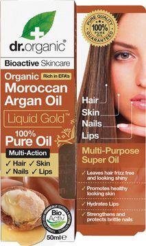 Dr Organic Arganolja Liquid Gold Kroppsolja, 50 ml