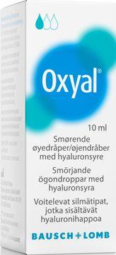 Oxyal smörjande ögondroppar Ögondroppar, 10 ml