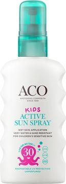 ACO Kids Active Sun Spray SPF 30 Solskydd för barn, 175 ml