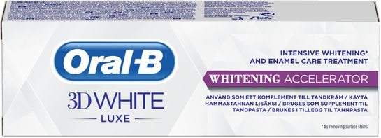 Oral-B 3DW Luxe Wh Accel 75 ML