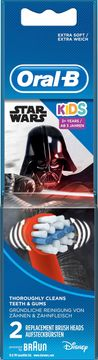 Oral-B Kids Star Wars 3+ år Tandbortshuvuden, 2 st