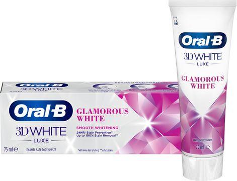Oral-B 3D White Luxe Glamorous White Tandkräm 75 ml
