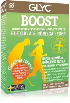 GLYC Boost Multitillskott för muskler och leder. 60 st