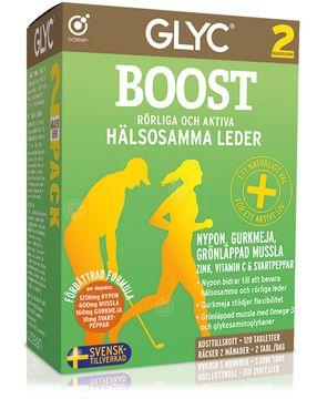 GLYC Boost Multitillskott för muskler och leder. 120 st