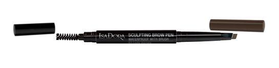 Isadora Sculpting Brow Pen 80 Dark Brown, Ögonbrynspenna