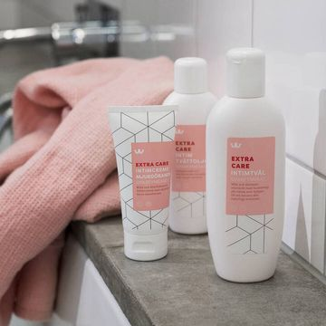 Kronans Apotek Extra Care Intim Tvättolja Intimrengöring Oparfymerad, 150 ml