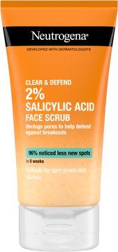 Neutrogena Clear & Defend Facial Scrub Ansiktsskrubb 150 ml