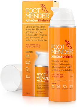 Footmender All in One Diabetic Fotkräm, 150 ml