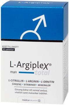 L-Argiplex Total Man Tablett, 90 st