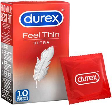 Durex Fetherlite Ultra kondom Feel Ultra Thin Kondom 10 st