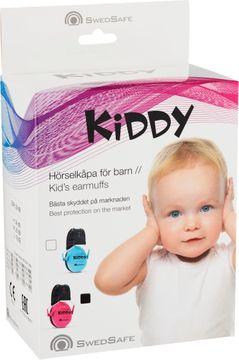 SwedSafe Kiddy Pink Hörselkåpor för barn. 1 st