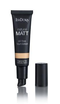 Isadora Natural Matt Oil Free Foundation 12 Sand