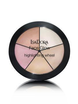 Isadora FACE GLOW HIGHLIGHTING WHEEL 51 18 G