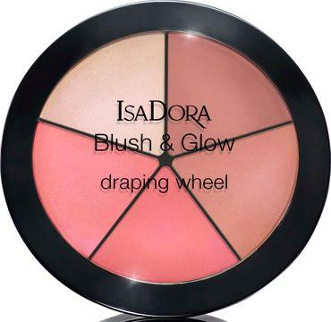 Isadora Blush & Glow Draping Wheel 55 Peachy Rose Pop, Rouge