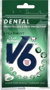 V6 Dental dual action spearmint 30 G
