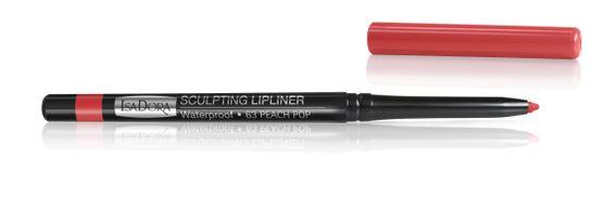 Isadora Sculpting Lip Liner Waterproof 63 Peach Pop, Läppenna