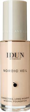 IDUN Minerals Nordic Veil Foundation Saga Foundation, 26 ml