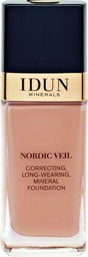 IDUN Minerals Nordic Veil Foundation Ylva Foundation, 26 ml