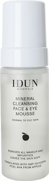 IDUN Minerals Skincare Cleansing Mousse Ansiktsrengöring, 150 ml