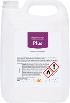 DAX Ytdesinfektion Plus 5000 ml