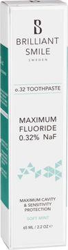 Brilliant Smile Sweden o.32 Fluoride toothpaste 65 ml