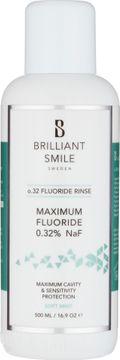 Brilliant Smile Sweden o.32 Fluoride Rinse 500ml