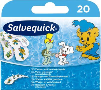 Salvequick Bamse Barnplåster, 20 st