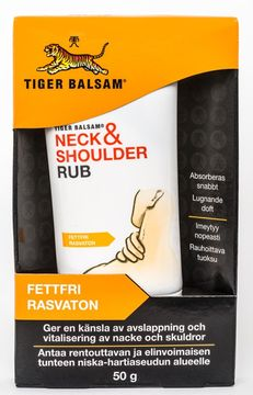 Tigerbalsam Neck and Shoulder Rub 50g