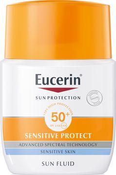 EucerinSensitive Protect Sun Fluid SPF50+ 50 ml Solskydd, 50 ml