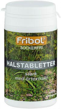Fribol Sockerfri Halstablett Stark Halstablett, 60 g
