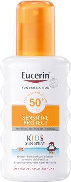 Eucerin Kids Sun Spray SPF 50+ Solskydd för barn, 200 ml
