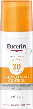 Eucerin Anti-Age Sun Fluid SPF 30 Solskydd, 50 ml